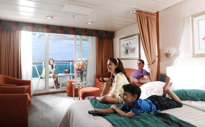 Royal Caribbean Grandeur of the Seas junior suite balcony stateroom