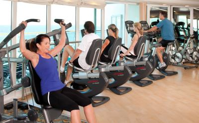 Royal Caribbean Grandeur of the Seas fitness center