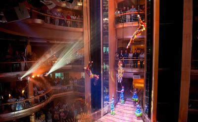 Royal Caribbean Grandeur of the Seas Centrum Wow show